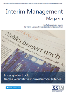 Interim Management Magazin